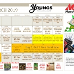 March Daily Specials